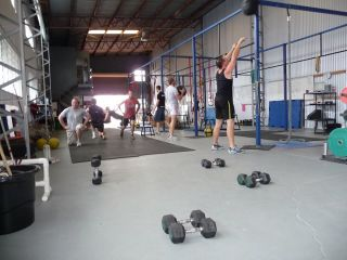 Wall Ball Lunge WOD