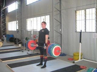 Dougie Deadlift 185kg